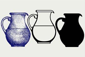 Milk pitcher SVG