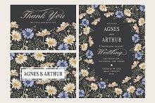 Wedding Flowers Chamomile Card Frame