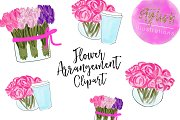 Tulip and Peonies Clipart