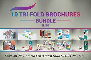 10 Tri fold Brochures Bundle - SK