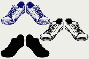 Sneakers SVG