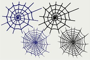 Spider net SVG