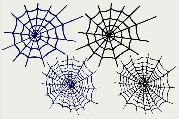 Spider Net SVG DXF