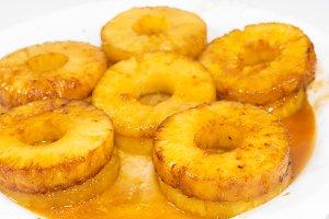 Caramelized pineapple.