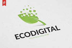 Eco Digital Logo