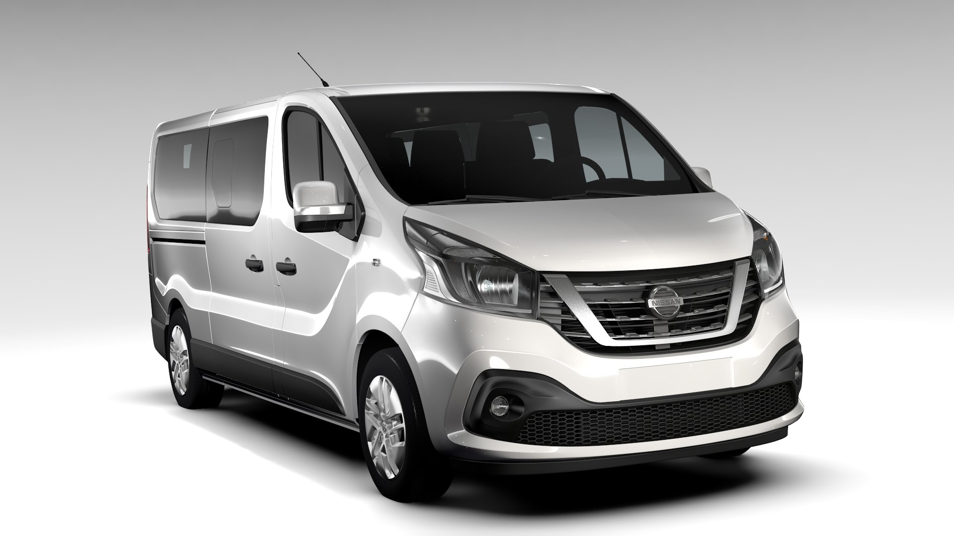 nissan nv 300 combi l2h1 2016 vehicles creative market. Black Bedroom Furniture Sets. Home Design Ideas