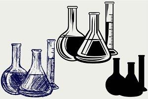 Laboratory glassware SVG