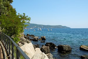 Sea view in town Herceg Novi