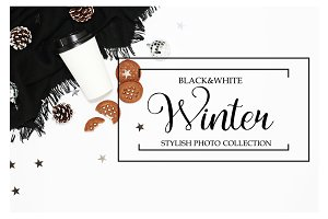Black & White Winter collection