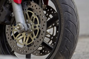 Moped tire