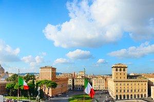 Rome panorama, Italy