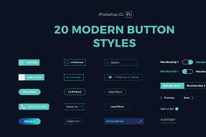 20 Modern Button Styles