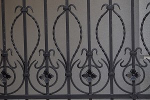 Wrought fence