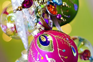 Bright Ornaments Vertical