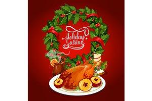 Christmas turkey festive cuisine