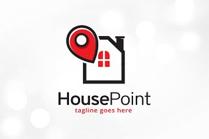 House Point Logo Template