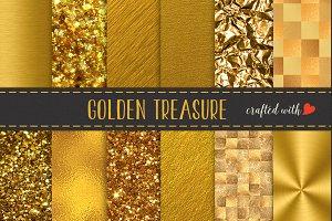 Gold Textures Mix