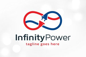 Infinity Power Logo Template