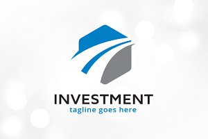 Abstract Investment Logo Design