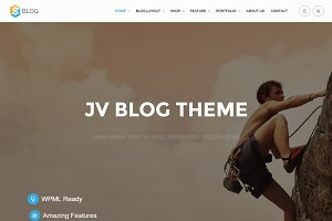 JV Blog Responsive Wordpress Theme