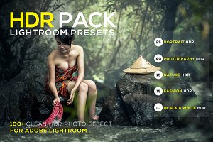 100+ HDR Lightroom Presets