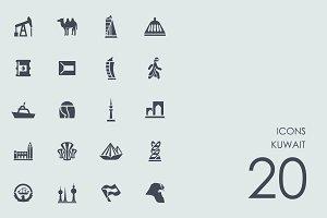 Kuwait icons