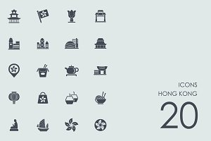 Hong Kong icons