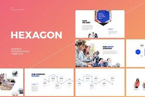 Hexagon-Keynote Template
