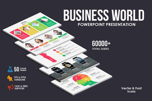 Business world powerpoint template presentation templates business world powerpoint template presentation templates creative market toneelgroepblik Images