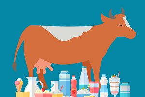 Milk Production Banner