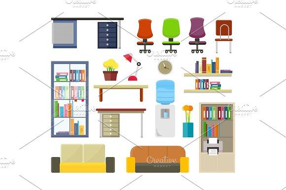 Set of Modern Office Furniture