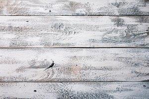 Vintage white wooden texture