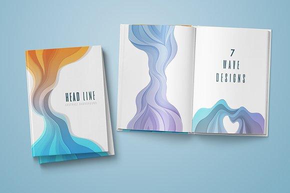 7 Wave Designs Illustrations Creative Market