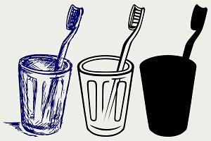 Toothbrush SVG