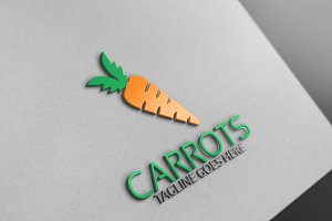 Carrot Logo Template