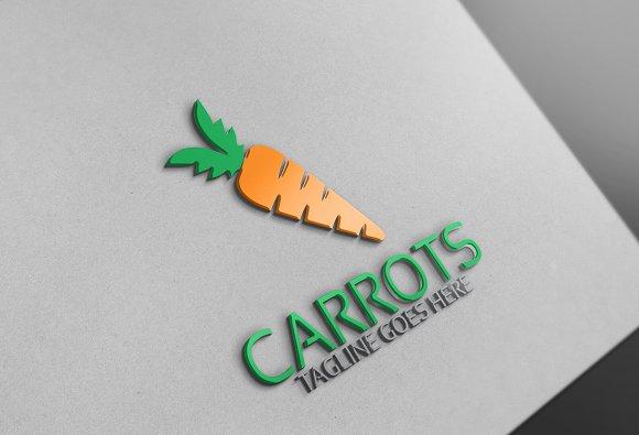 Carrot Logo Template