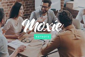 Moxie - Keynote Template