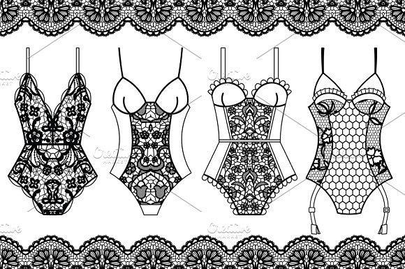 Collection of lingerie