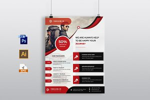 Corporate Travel Agency Flyer