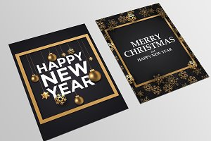 Holiday New Year card