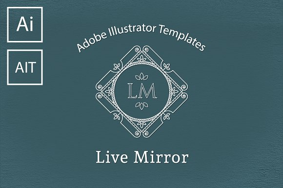 Mega Pack Of 27 Mirror Templates
