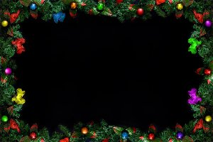 Christmas or New Year framework