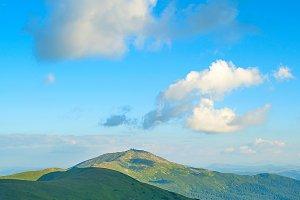 Carpathians Mountains view