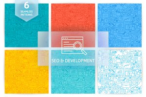 SEO Development Line Tile Patterns