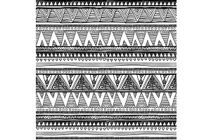 Ethnic seamless pattern native style