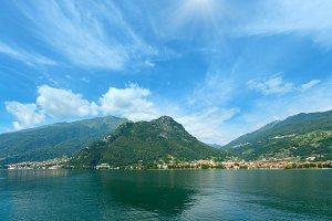 Lake Como (Italy).