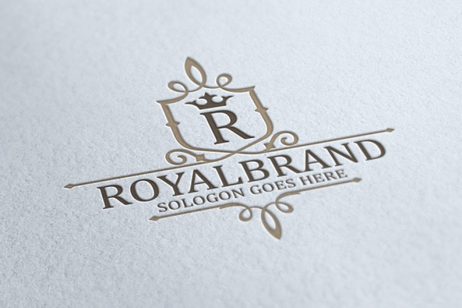 Royal Brand Logo V3 in Logo Templates - product preview 8