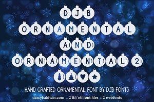 DJB Ornamental Font