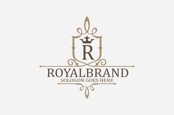 Royal Brand Logo V3 in Logo Templates - product preview 1