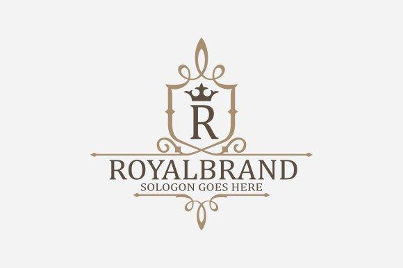 Royal Brand Logo V3 in Logo Templates